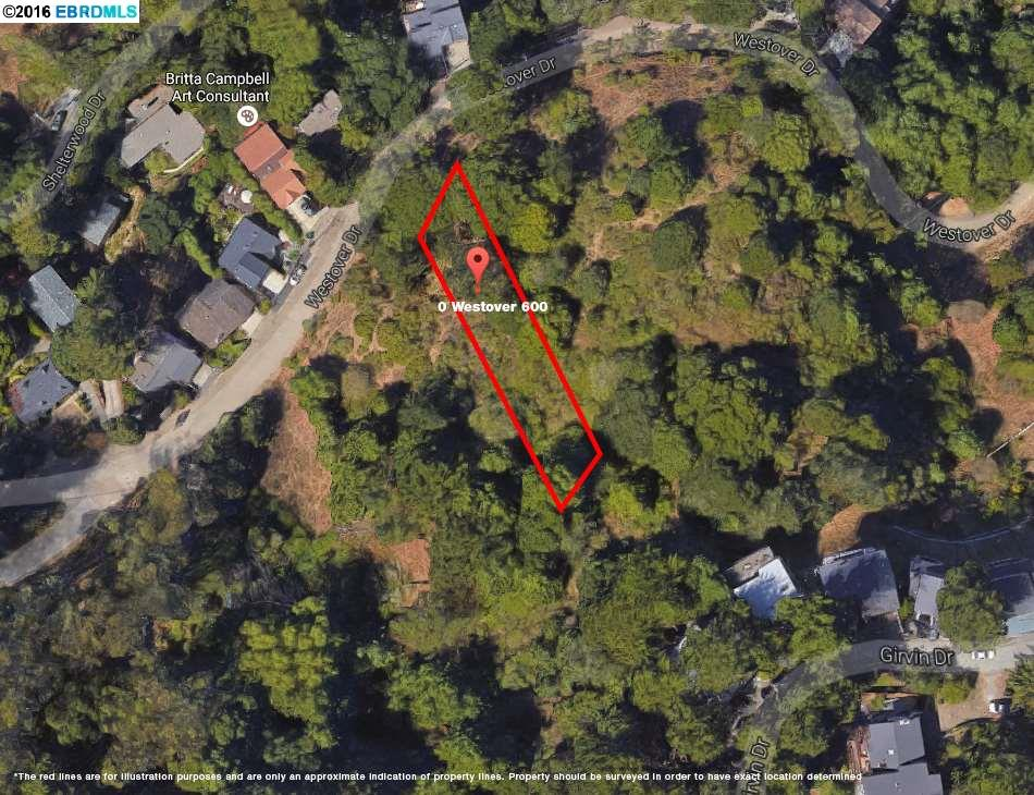 Additional photo for property listing at Westover Dr Lot 2450  Oakland, Californie 94611 États-Unis