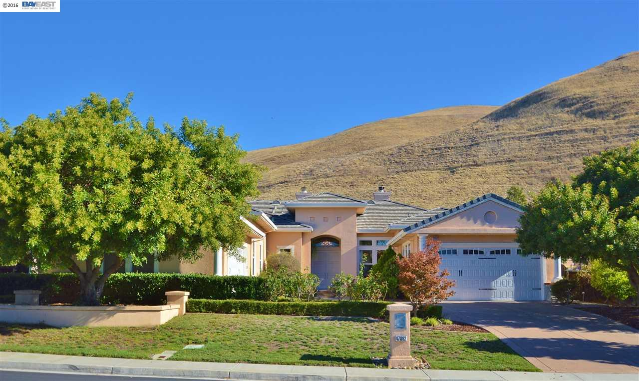 Single Family Home for Sale at 47892 Avalon Heights Terrace Fremont, California 94539 United States