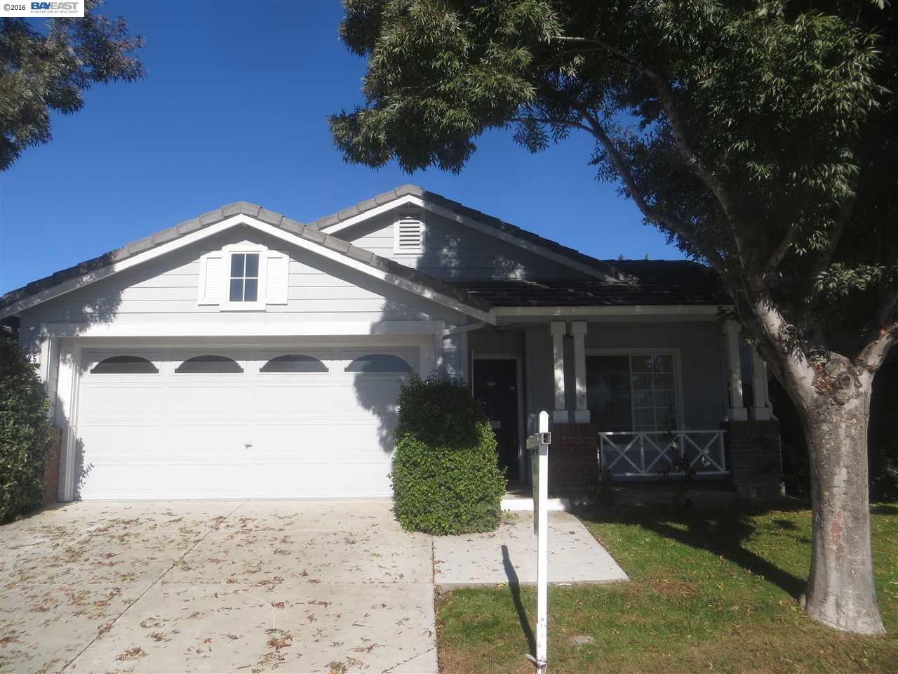 Single Family Home for Sale at 485 Pescadero Avenue Tracy, California 95376 United States