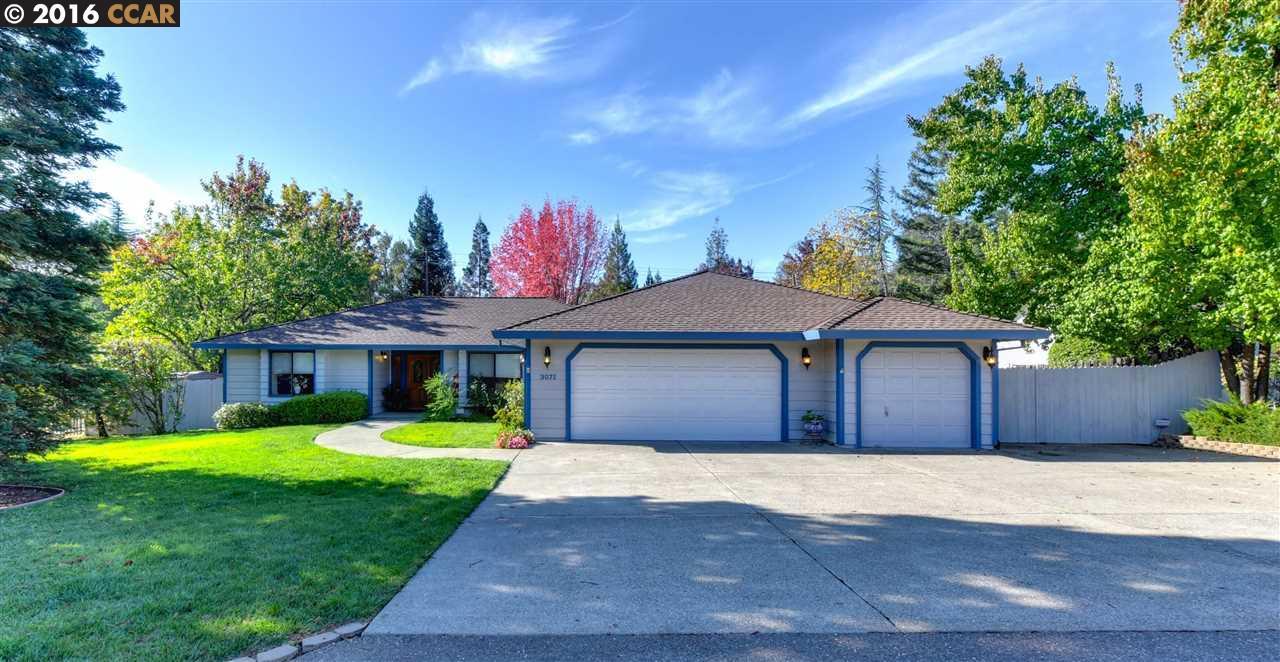 Частный односемейный дом для того Продажа на 3071 Merrywood Circle Cameron Park, Калифорния 95682 Соединенные Штаты