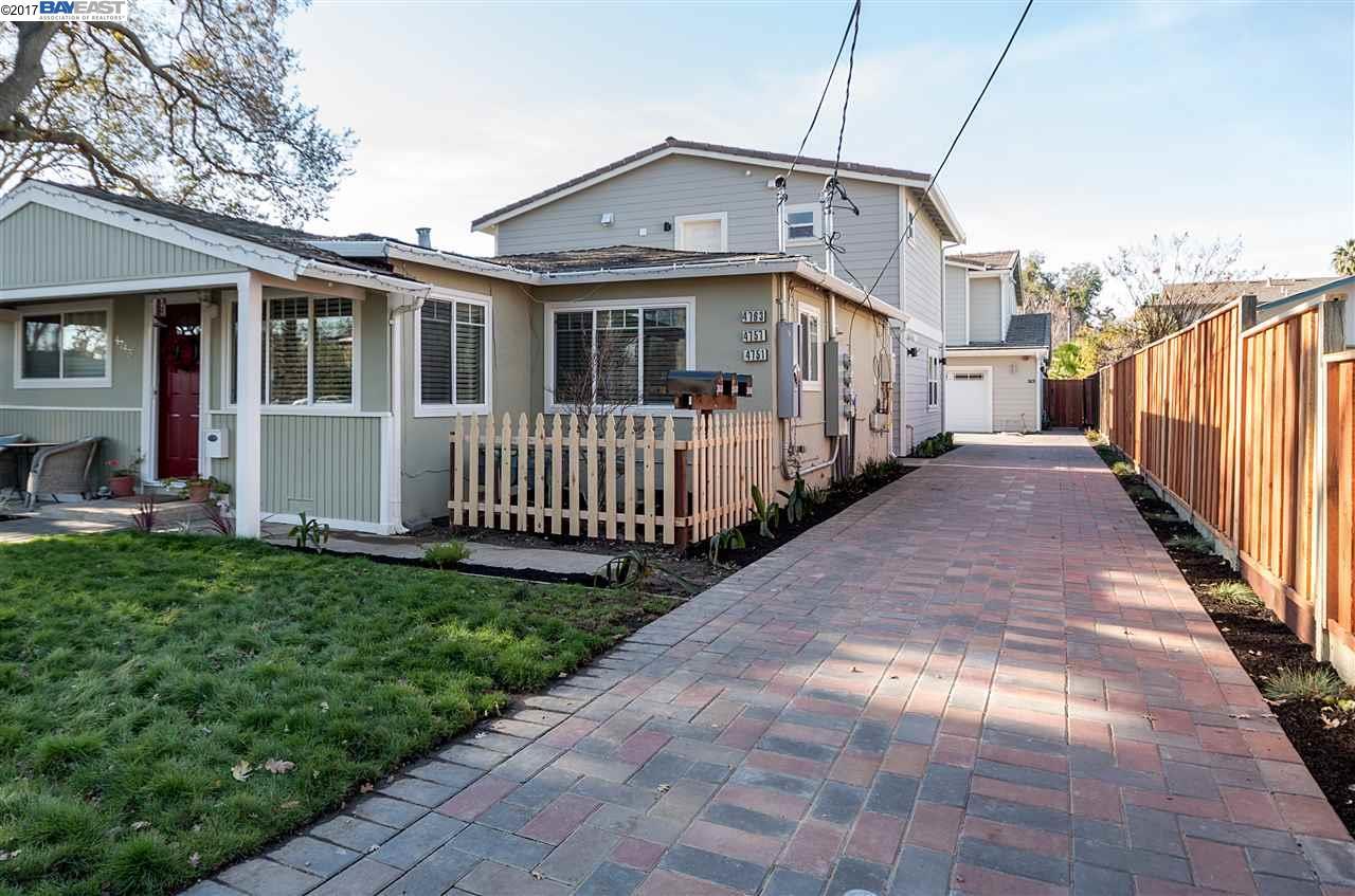 Многосемейный дом для того Продажа на 4745 Augustine Street Pleasanton, Калифорния 94566 Соединенные Штаты