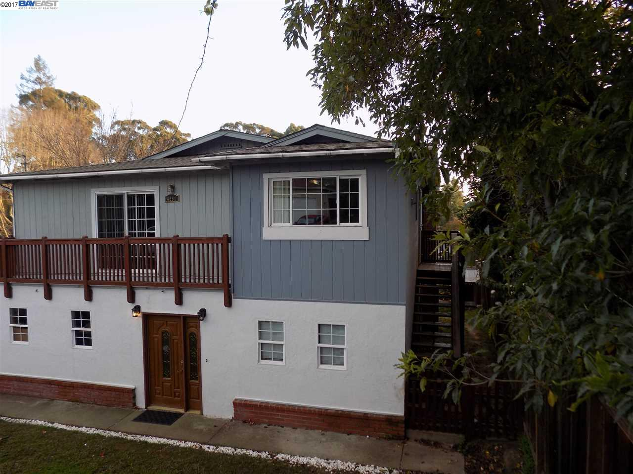 Single Family Home for Sale at 4861 Seven Hills Road Castro Valley, California 94546 United States