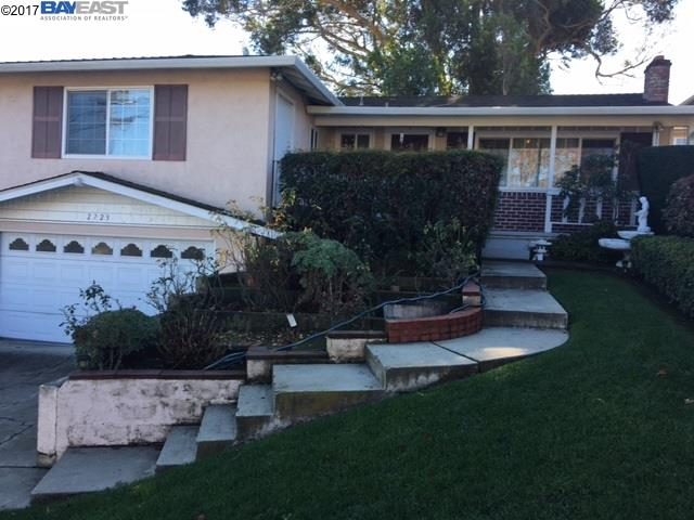 Single Family Home for Sale at 2723 Barlow Drive Castro Valley, California 94546 United States