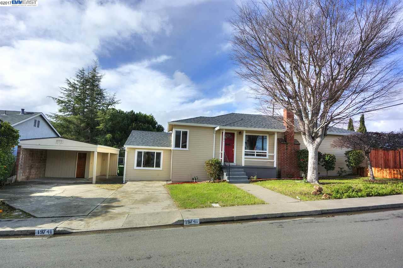 Single Family Home for Sale at 19741 Louise Court Castro Valley, California 94546 United States