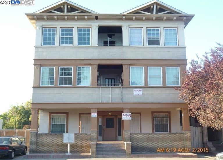 Mehrfamilienhaus für Verkauf beim 332 E OAK STREET 332 E OAK STREET Stockton, Kalifornien 95202 Vereinigte Staaten