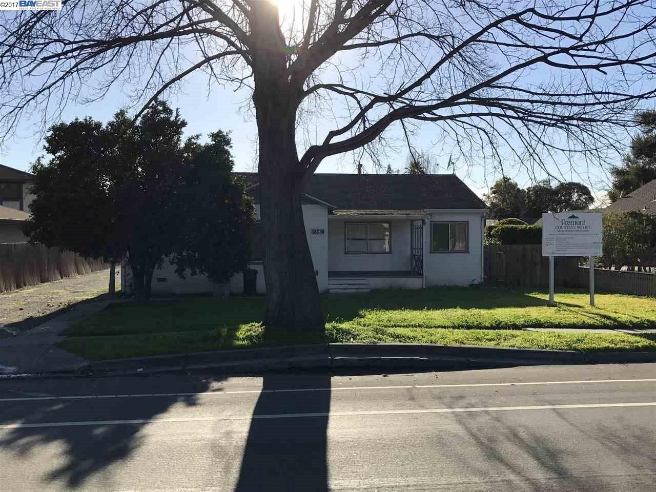 Земля для того Продажа на 38239 Fremont Blvd 38239 Fremont Blvd Fremont, Калифорния 94536 Соединенные Штаты