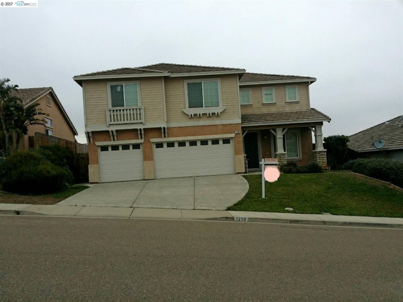 واحد منزل الأسرة للـ Rent في 1250 Brooktrail Drive Pittsburg, California 94565 United States
