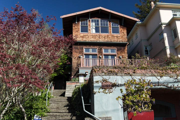 Single Family Home for Sale at 1303 Arch Street Berkeley, California 94708 United States