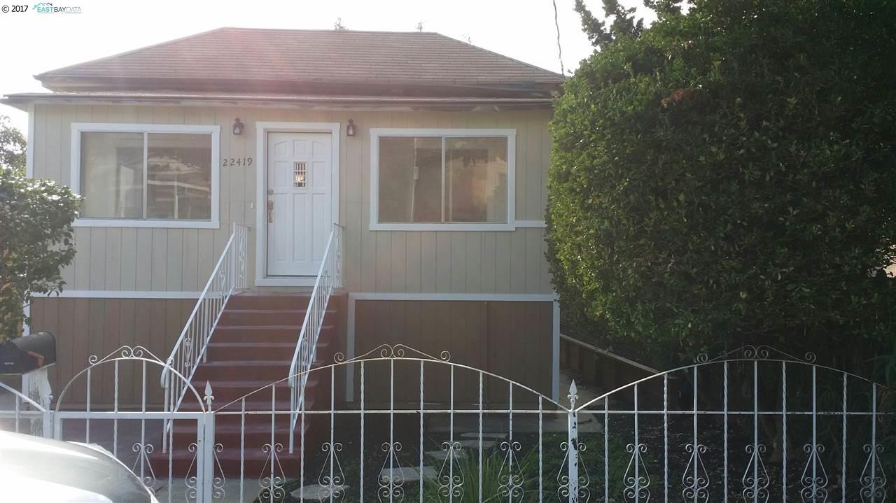 Single Family Home for Sale at 22419 Ruby Street Castro Valley, California 94546 United States