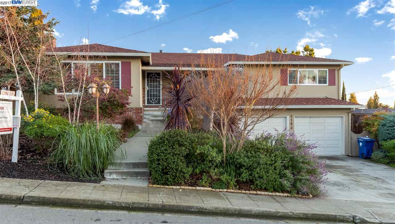Single Family Home for Sale at 5163 Bates way Castro Valley, California 94546 United States