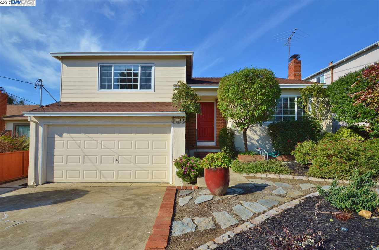 Single Family Home for Sale at 19019 Gliddon Street Castro Valley, California 94546 United States