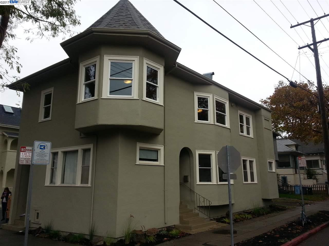 二世帯住宅 のために 売買 アット 1647 Woolsey Street 1647 Woolsey Street Berkeley, カリフォルニア 94703 アメリカ合衆国