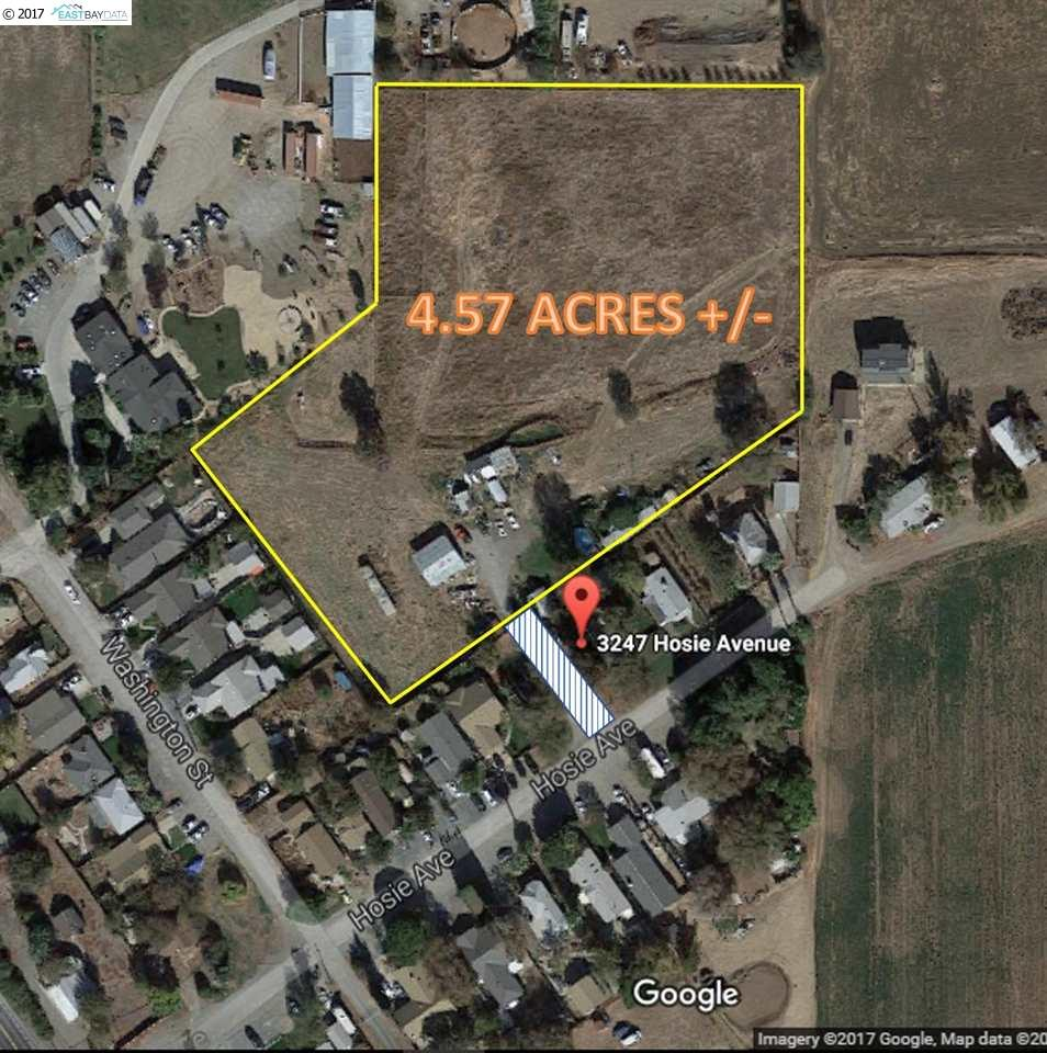 Land for Sale at 3247 Hosie Avenue Byron, California 94514 United States