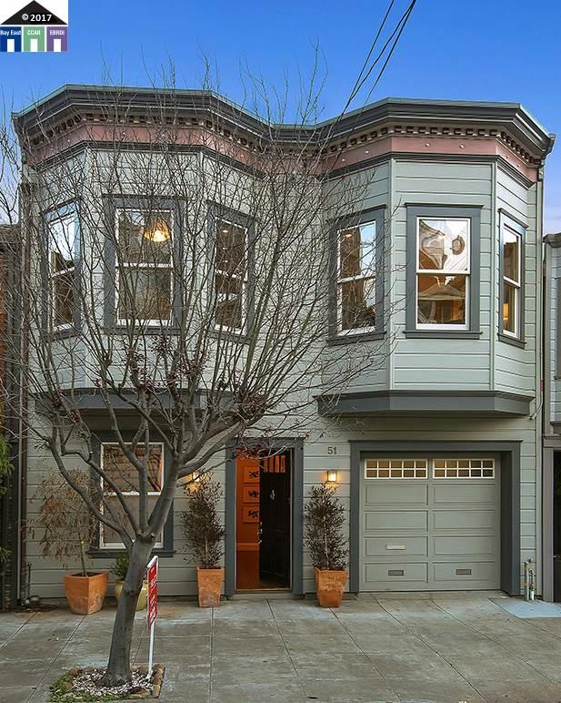 Single Family Home for Sale at 51 Ord Street 51 Ord Street San Francisco, California 94114 United States