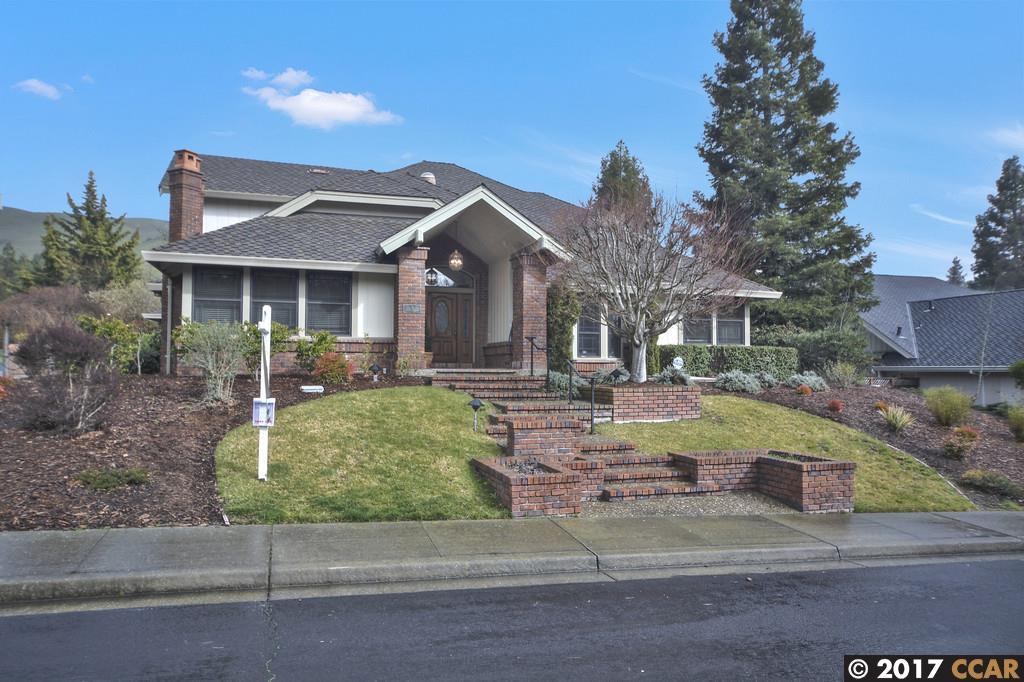 Single Family Home for Sale at 3 Crockett Drive Moraga, California 94556 United States
