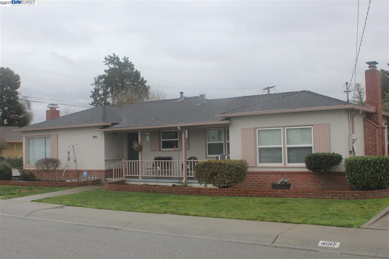 Single Family Home for Sale at 4017 Streetevens Street Castro Valley, California 94546 United States
