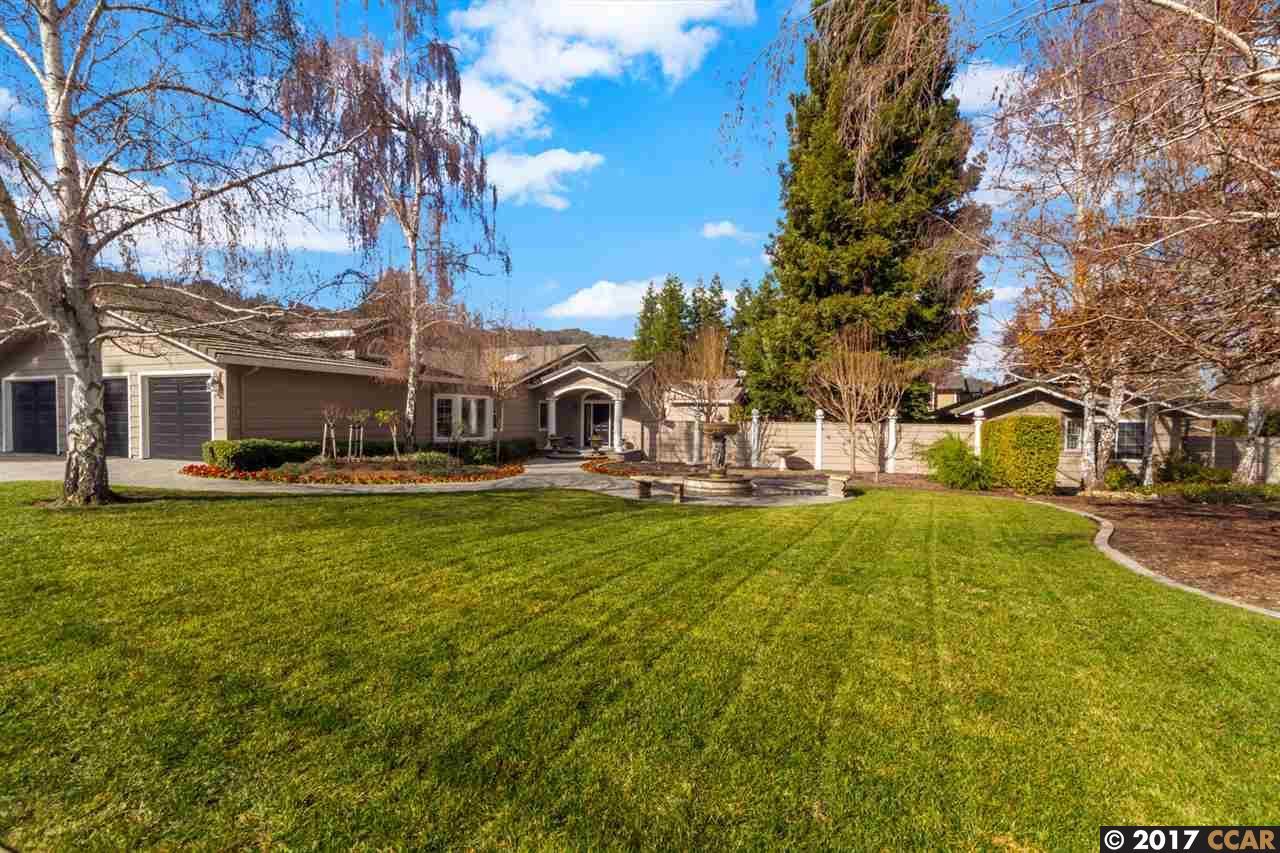 Single Family Home for Sale at 1560 Las Trampas Road Alamo, California 94507 United States