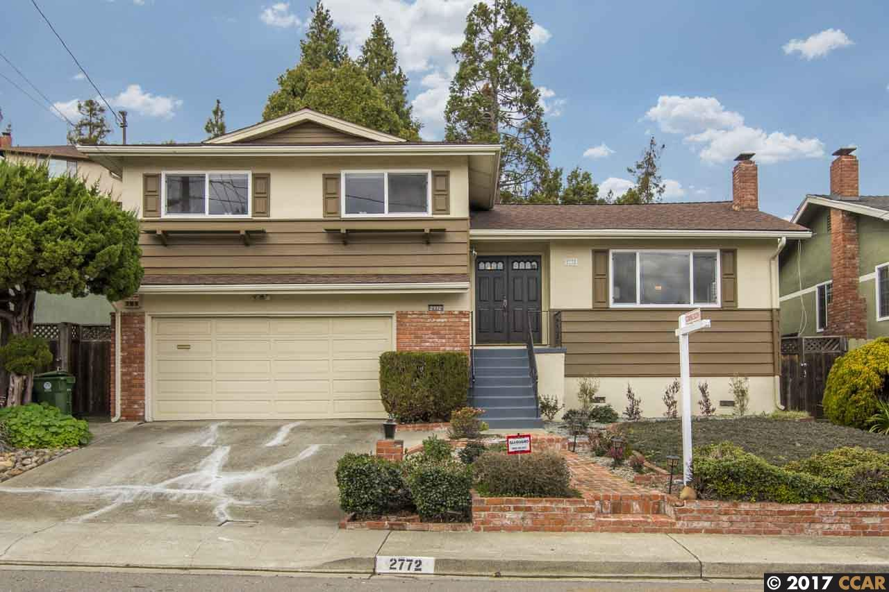 Single Family Home for Sale at 2772 Barlow Drive Castro Valley, California 94546 United States
