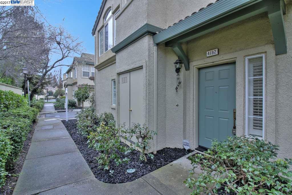 Townhouse for Sale at 4192 Torino Court Pleasanton, California 94588 United States