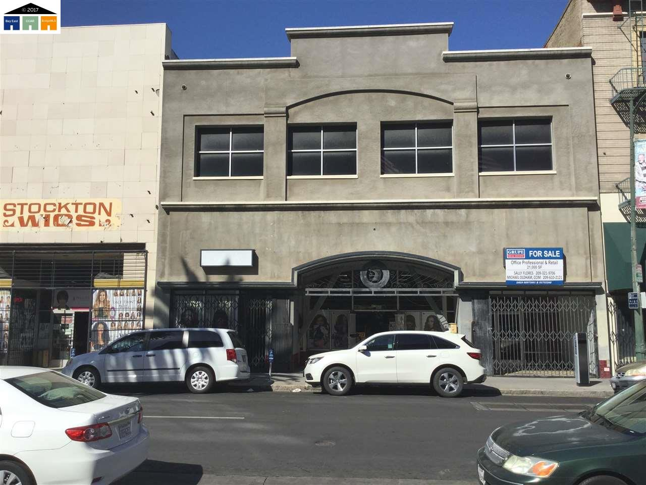 Commercial for Sale at 417 E Main 417 E Main Stockton, California 95202 United States