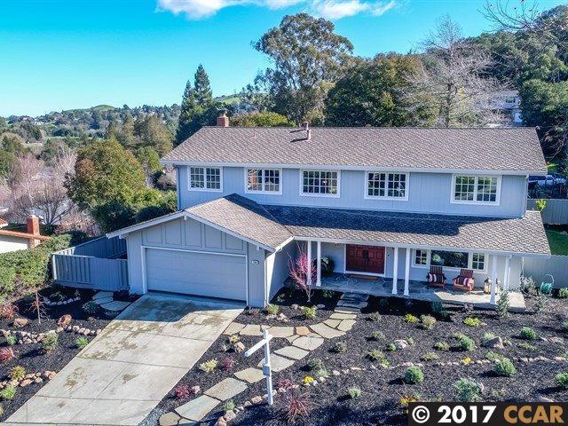 Single Family Home for Sale at 1063 Del Rio Way Moraga, California 94556 United States