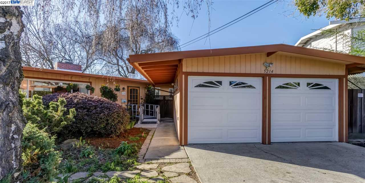 Single Family Home for Sale at 5214 Brom Circle Castro Valley, California 94546 United States
