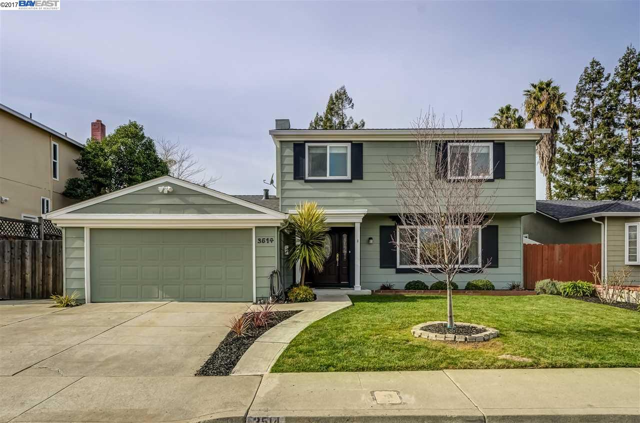 Single Family Home for Sale at 3514 Kings Canyon Court Pleasanton, California 94588 United States