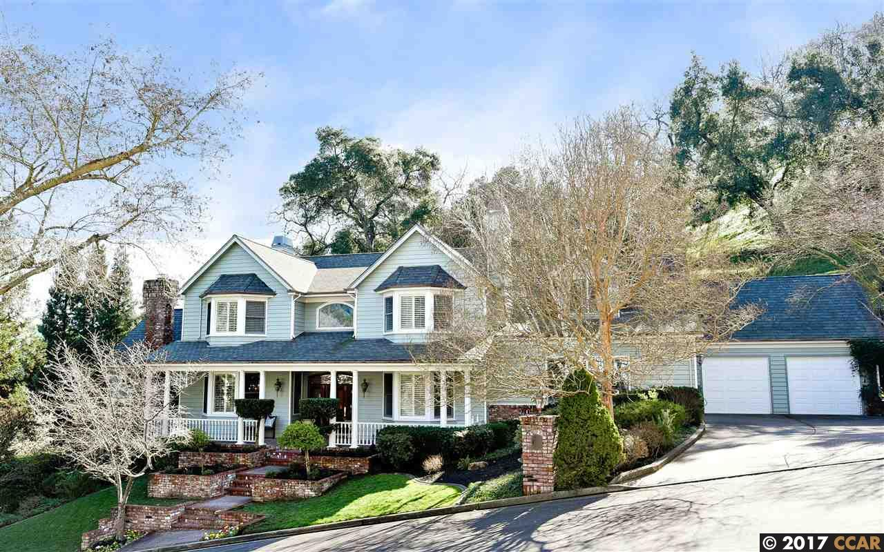 Single Family Home for Sale at 415 Via Del Rey Alamo, California 94507 United States