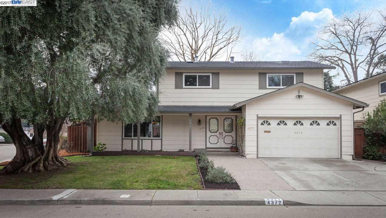 Single Family Home for Sale at 4372 Clovewood Lane Pleasanton, California 94588 United States