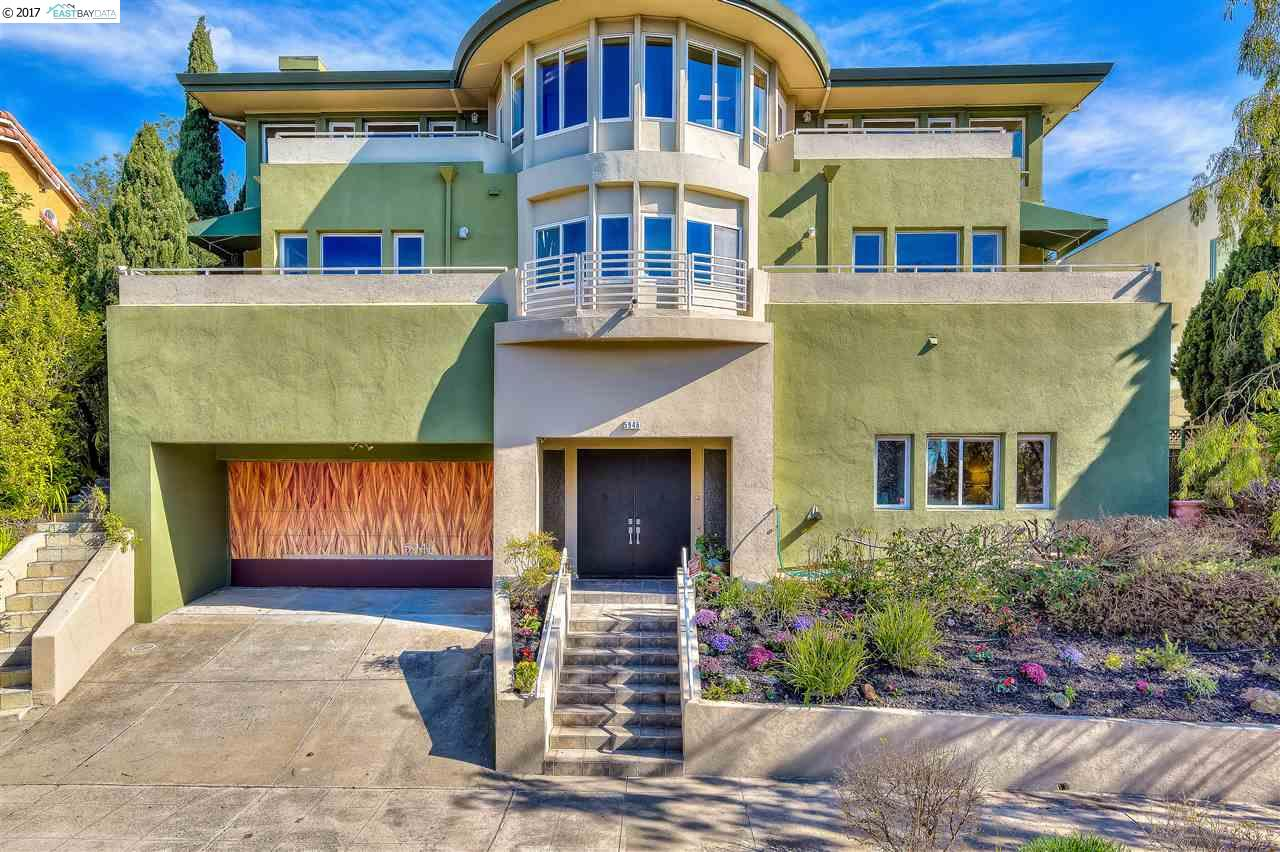 Single Family Home for Sale at 5946 Manchester Drive Oakland, California 94618 United States