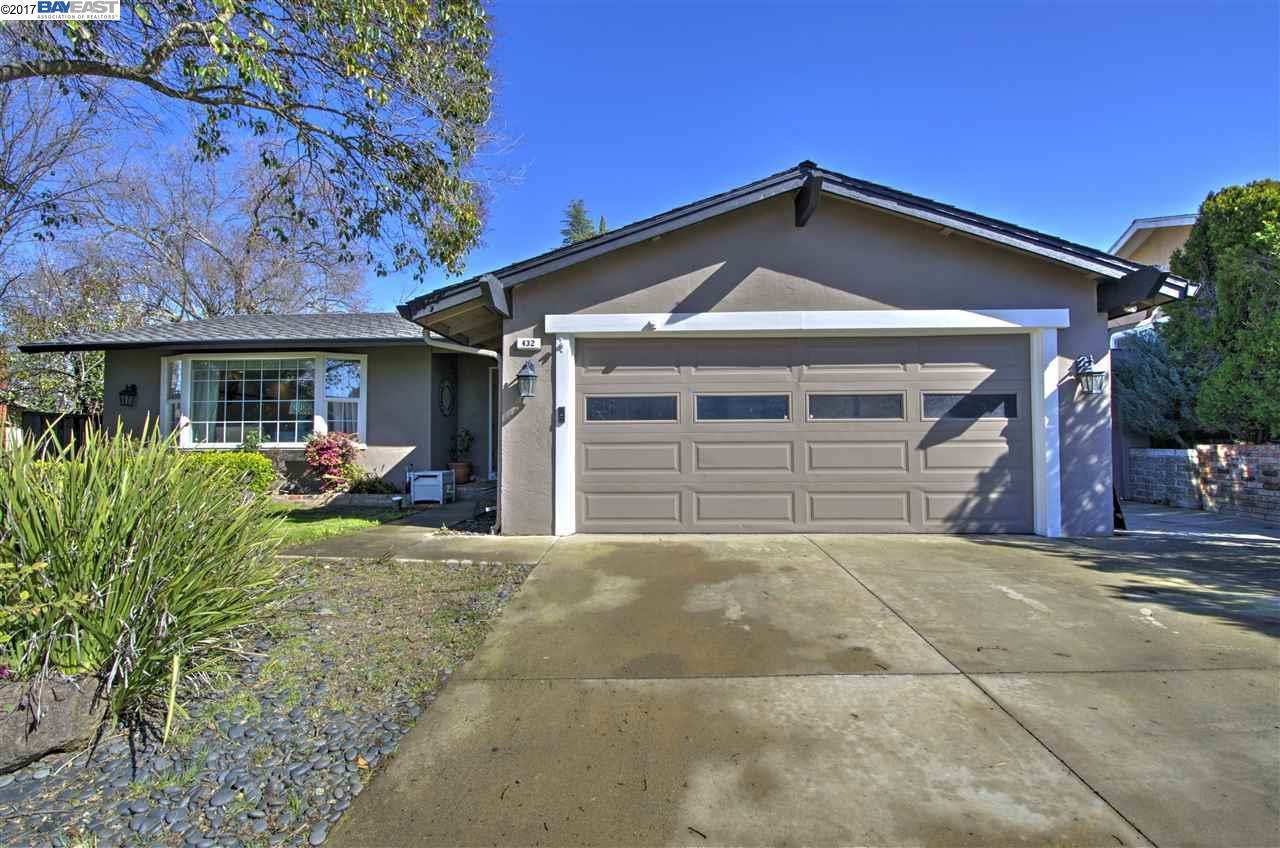Single Family Home for Sale at 432 San Gabriel Pleasanton, California 94566 United States