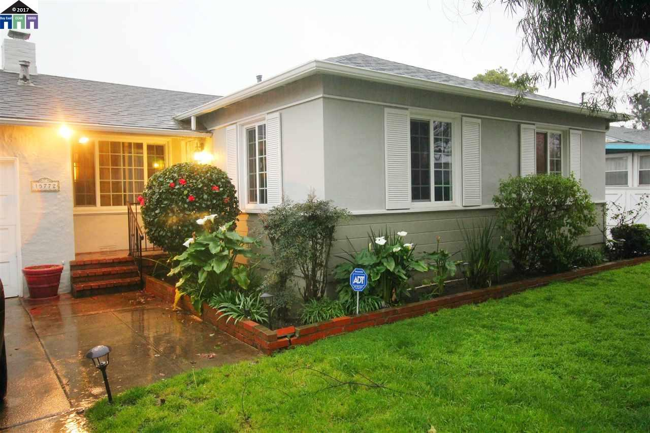 Single Family Home for Sale at 15772 Paseo Del Campo San Lorenzo, California 94580 United States