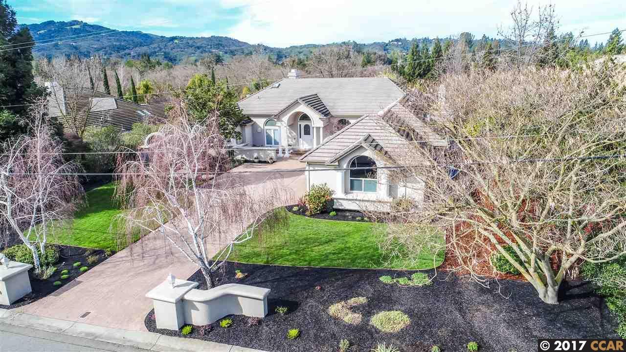 Single Family Home for Sale at 143 Erselia Trail Alamo, California 94507 United States