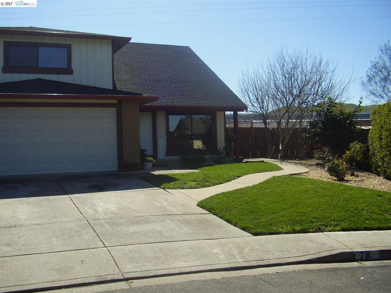 Maison unifamiliale pour l Vente à 78 Yuba Court Bay Point, Californie 94565 États-Unis