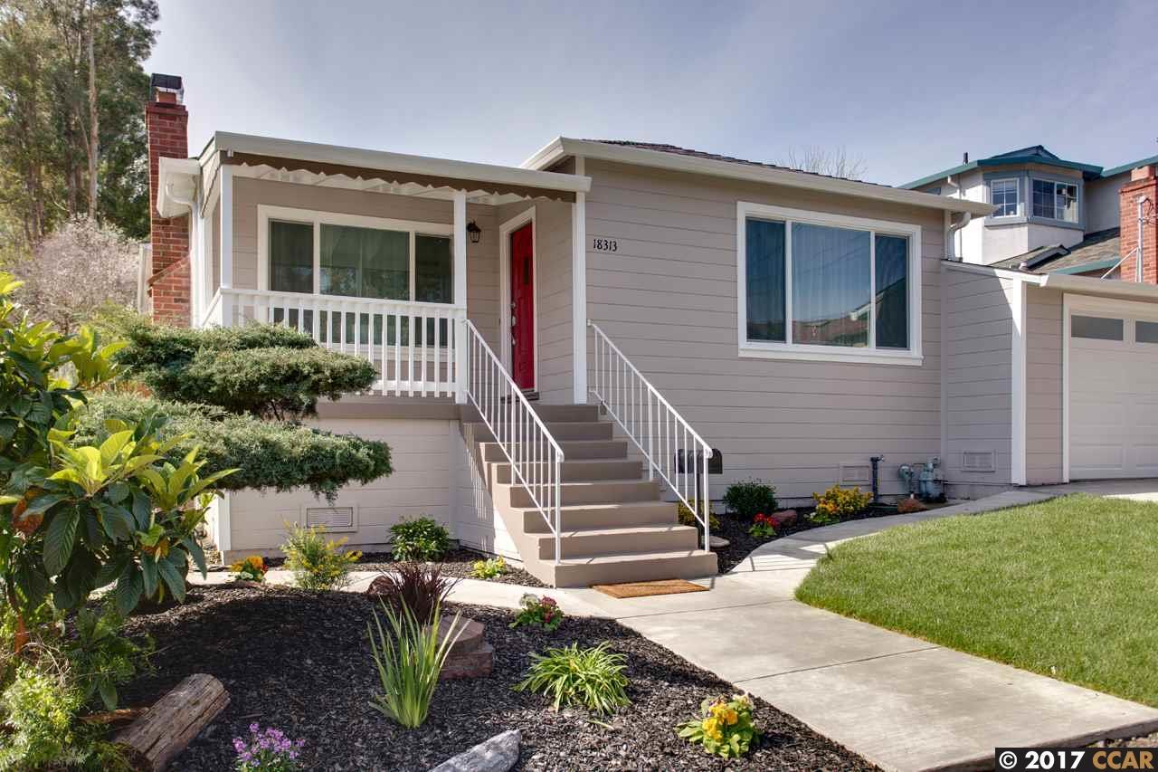 Single Family Home for Sale at 18313 Carlton Avenue Castro Valley, California 94546 United States