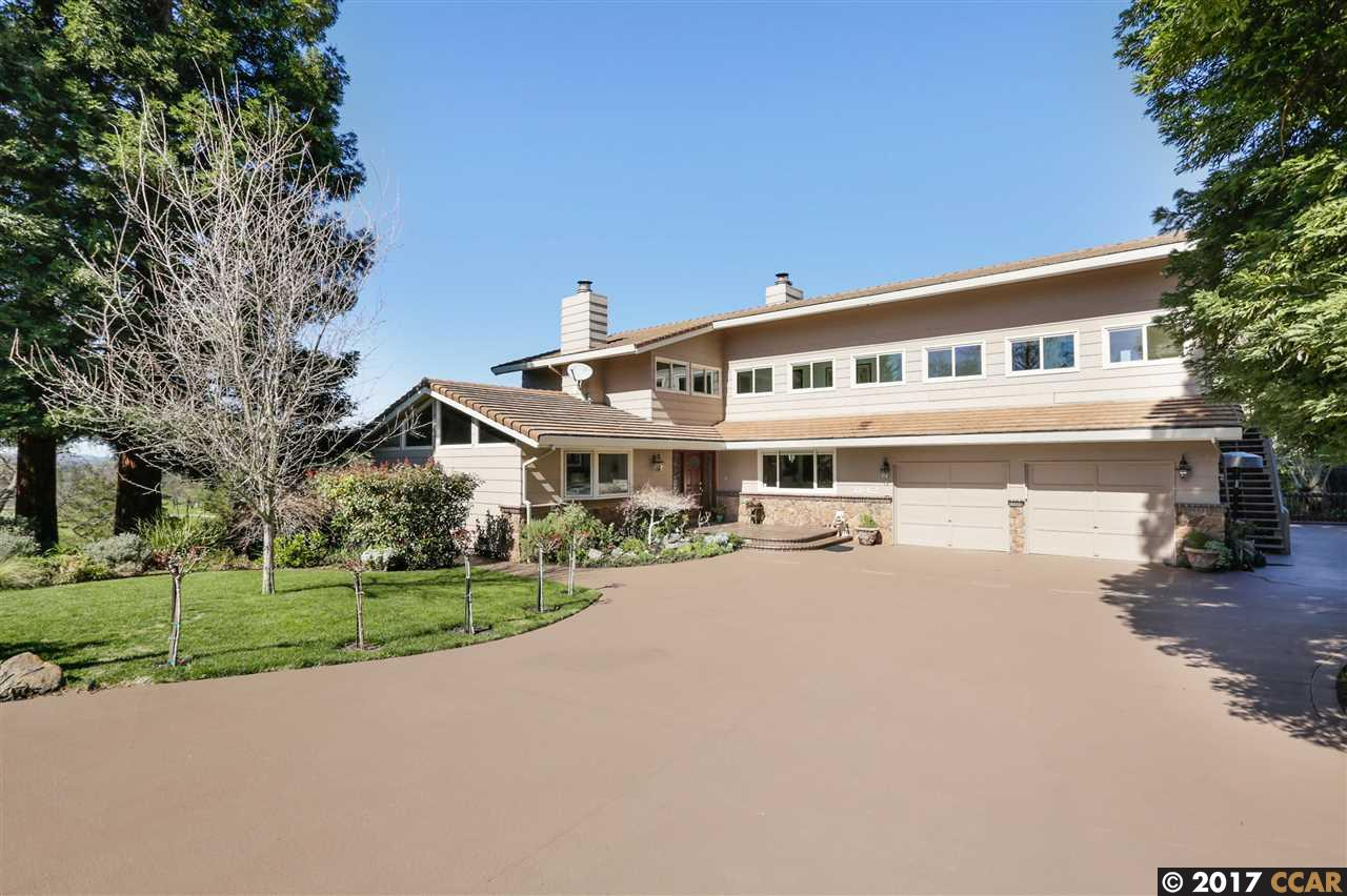 Частный односемейный дом для того Продажа на 1842 El Nido Diablo, Калифорния 94528 Соединенные Штаты