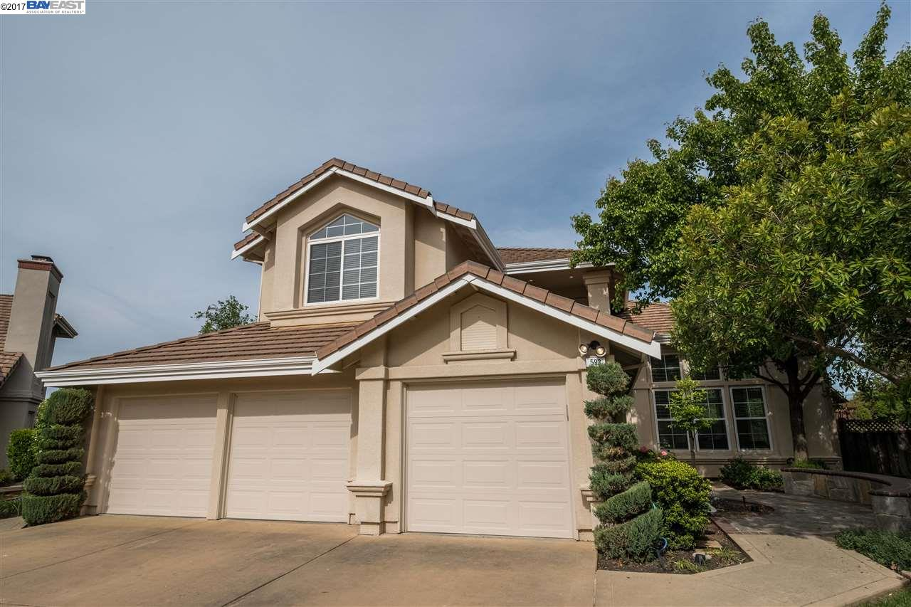 Single Family Home for Sale at 593 Trebbiano Place Pleasanton, California 94566 United States