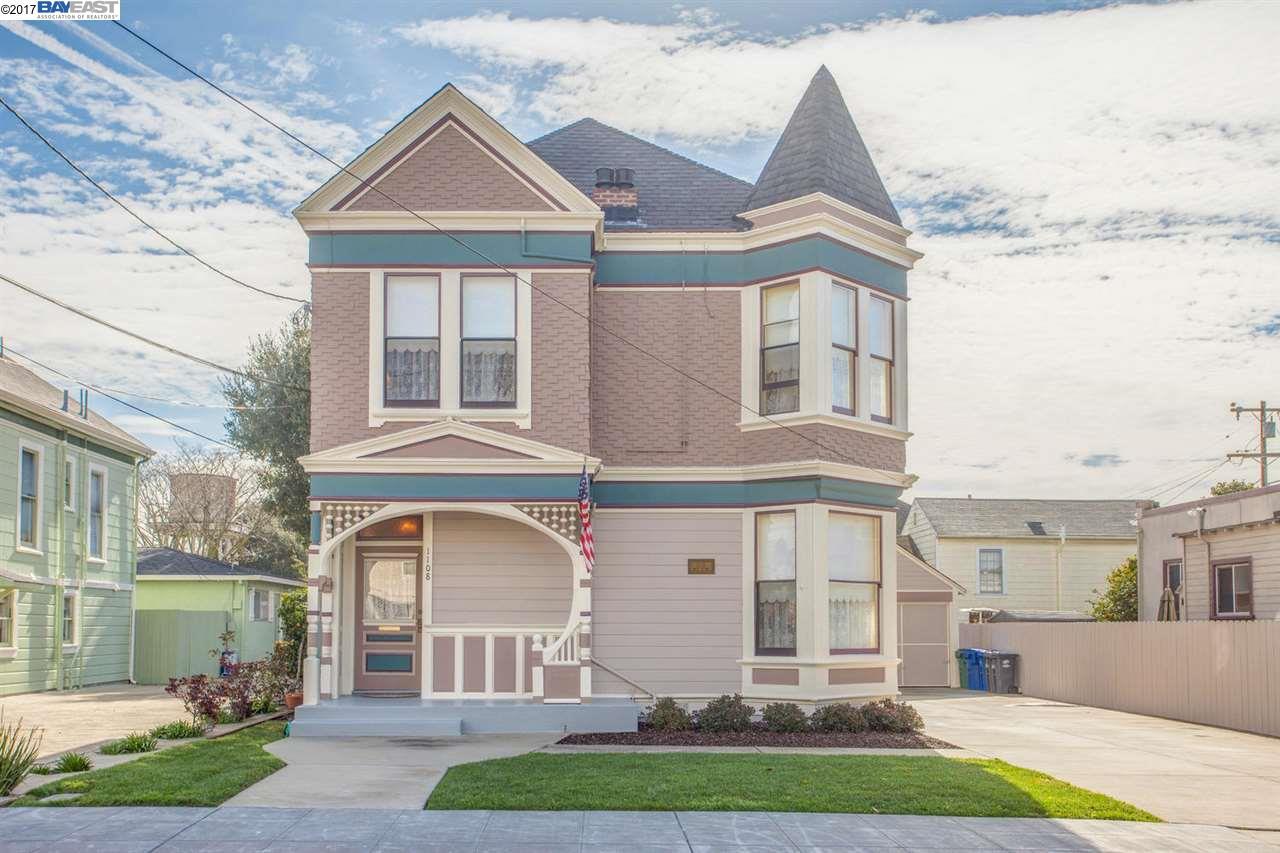 Einfamilienhaus für Verkauf beim 1108 Regent Street Alameda, Kalifornien 94501 Vereinigte Staaten