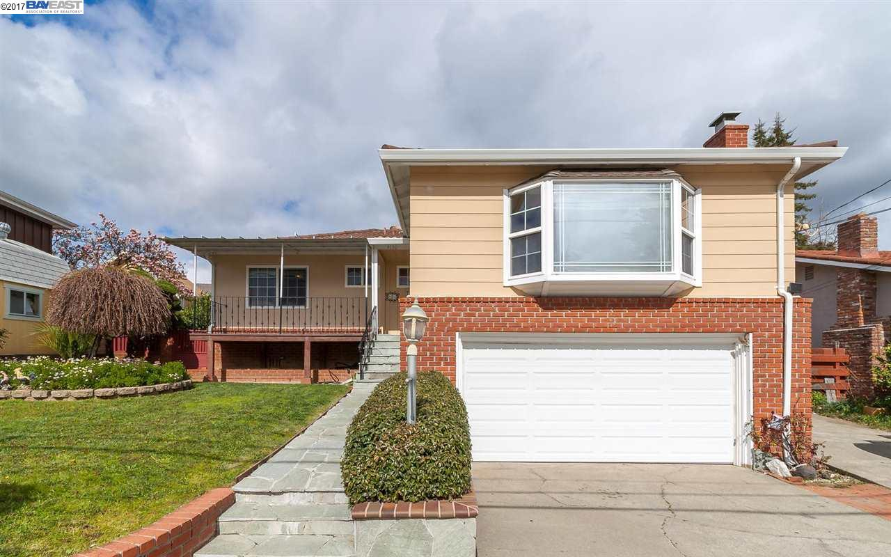Single Family Home for Sale at 4130 Wilson Avenue Castro Valley, California 94546 United States