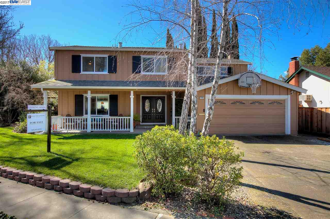 Single Family Home for Sale at 1144 Harvest Road Pleasanton, California 94566 United States