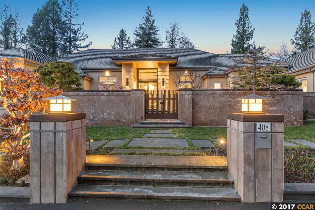 Частный односемейный дом для того Продажа на 408 Horsetrail Court Alamo, Калифорния 94507 Соединенные Штаты