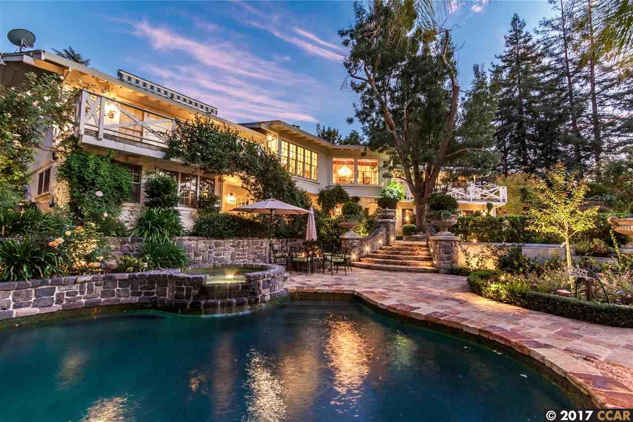 Частный односемейный дом для того Продажа на 2061 CASA NUESTRA Diablo, Калифорния 94528 Соединенные Штаты