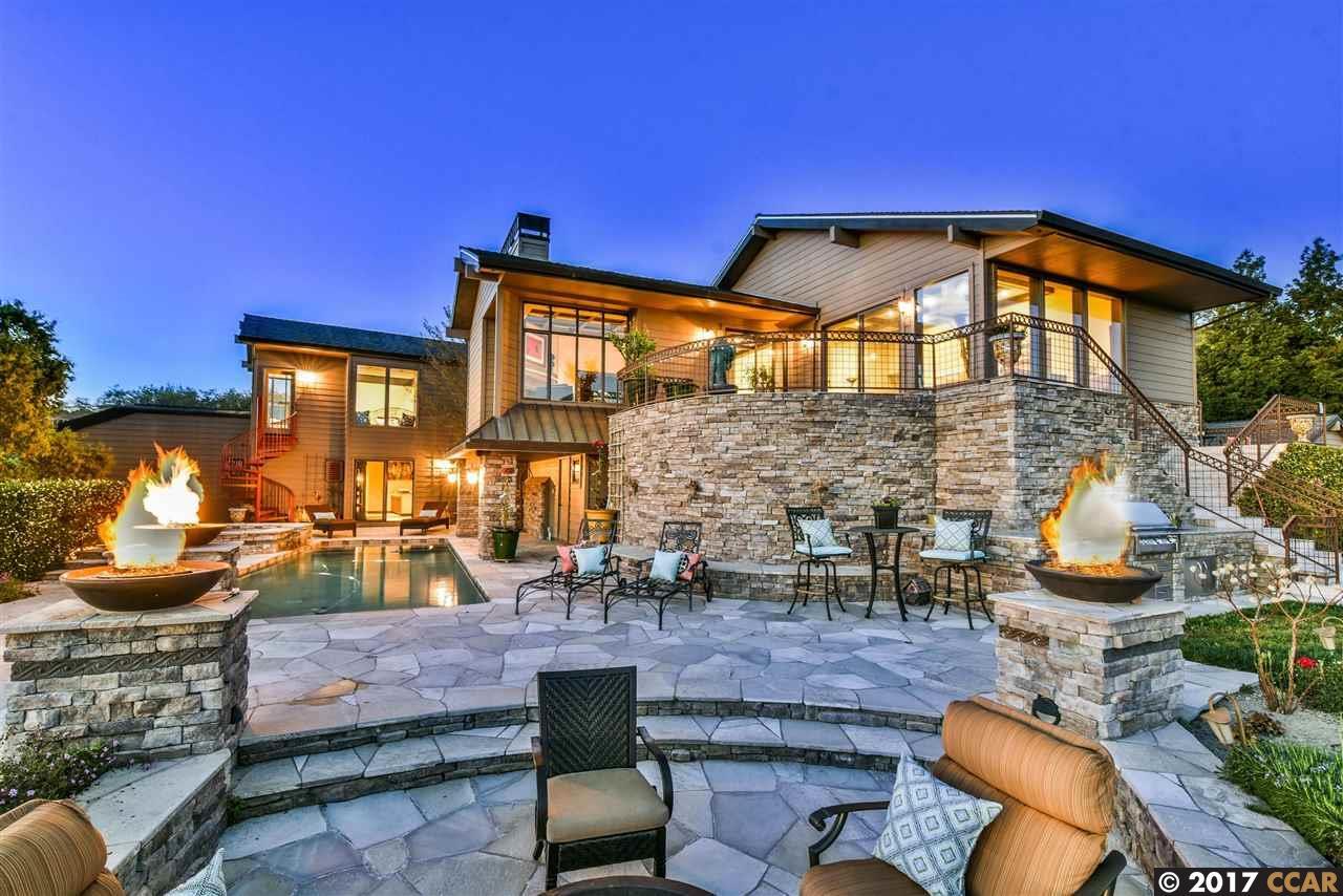 Einfamilienhaus für Verkauf beim 170 Tracy Lane Alamo, Kalifornien 94507 Vereinigte Staaten