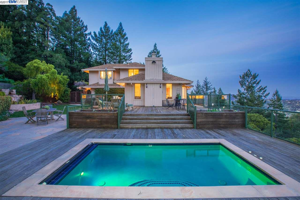 واحد منزل الأسرة للـ Sale في 331 Evergreen Drive Kentfield, California 94904 United States
