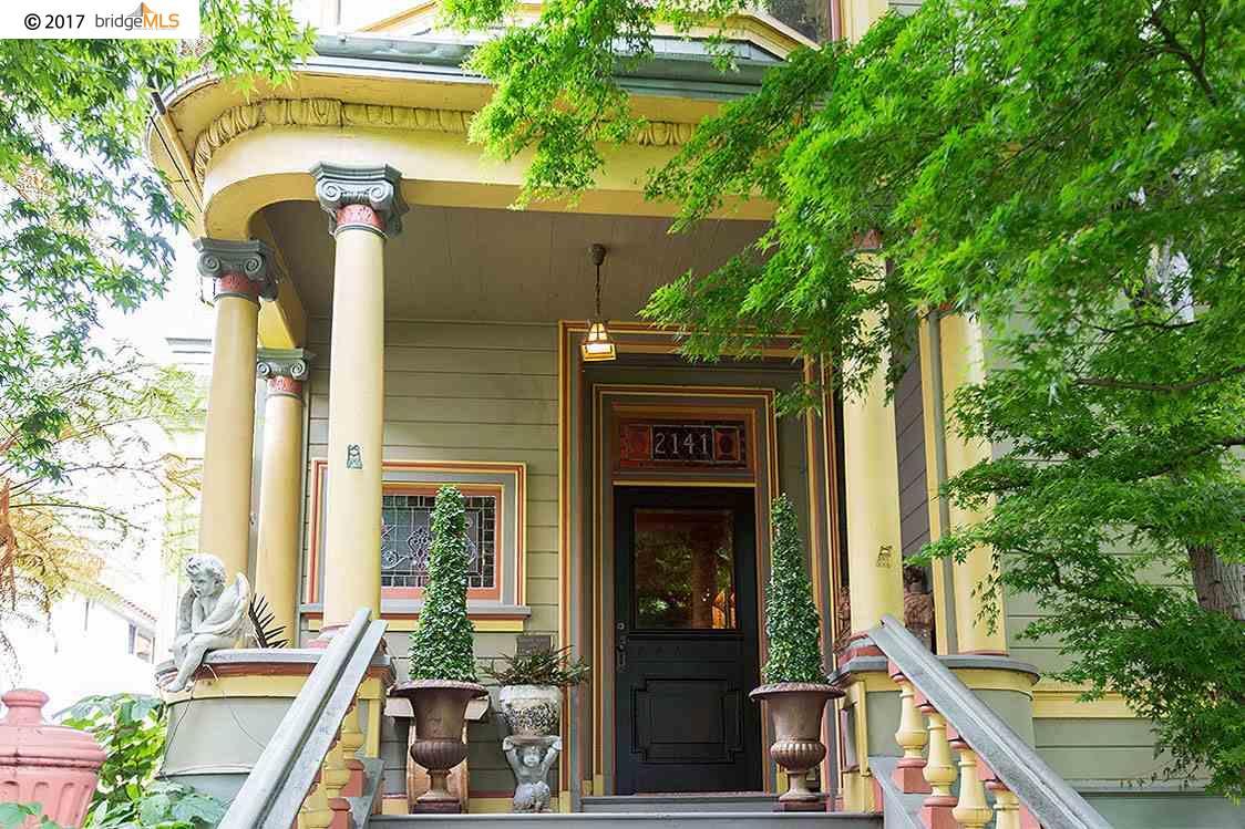 Частный односемейный дом для того Продажа на 2141 Santa Clara Avenue Alameda, Калифорния 94501 Соединенные Штаты
