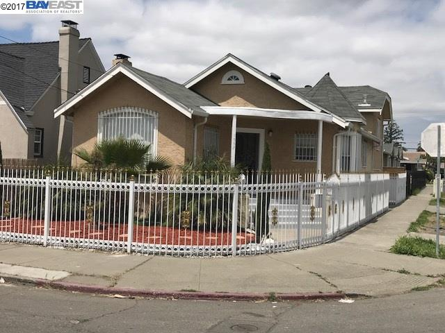 واحد منزل الأسرة للـ Sale في 1557 69Th Avenue Oakland, California 94621 United States
