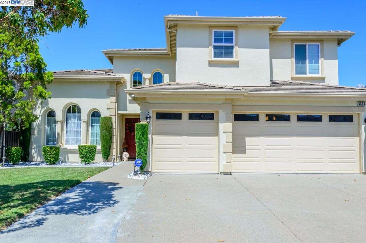 Single Family Home for Sale at 5513 Alvelais Drive Union City, California 94587 United States