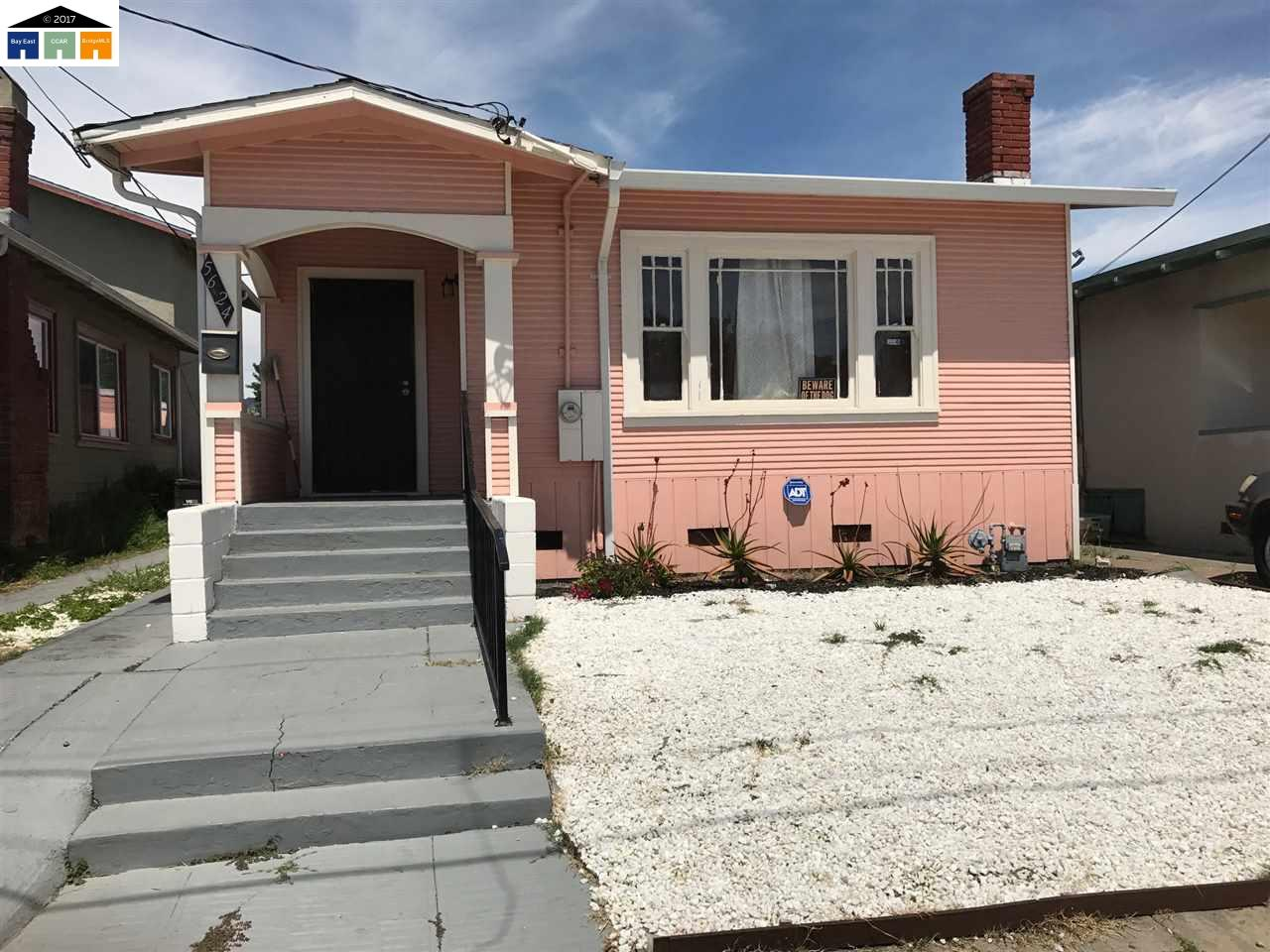 5624 Holway St | OAKLAND | 933 | 94621