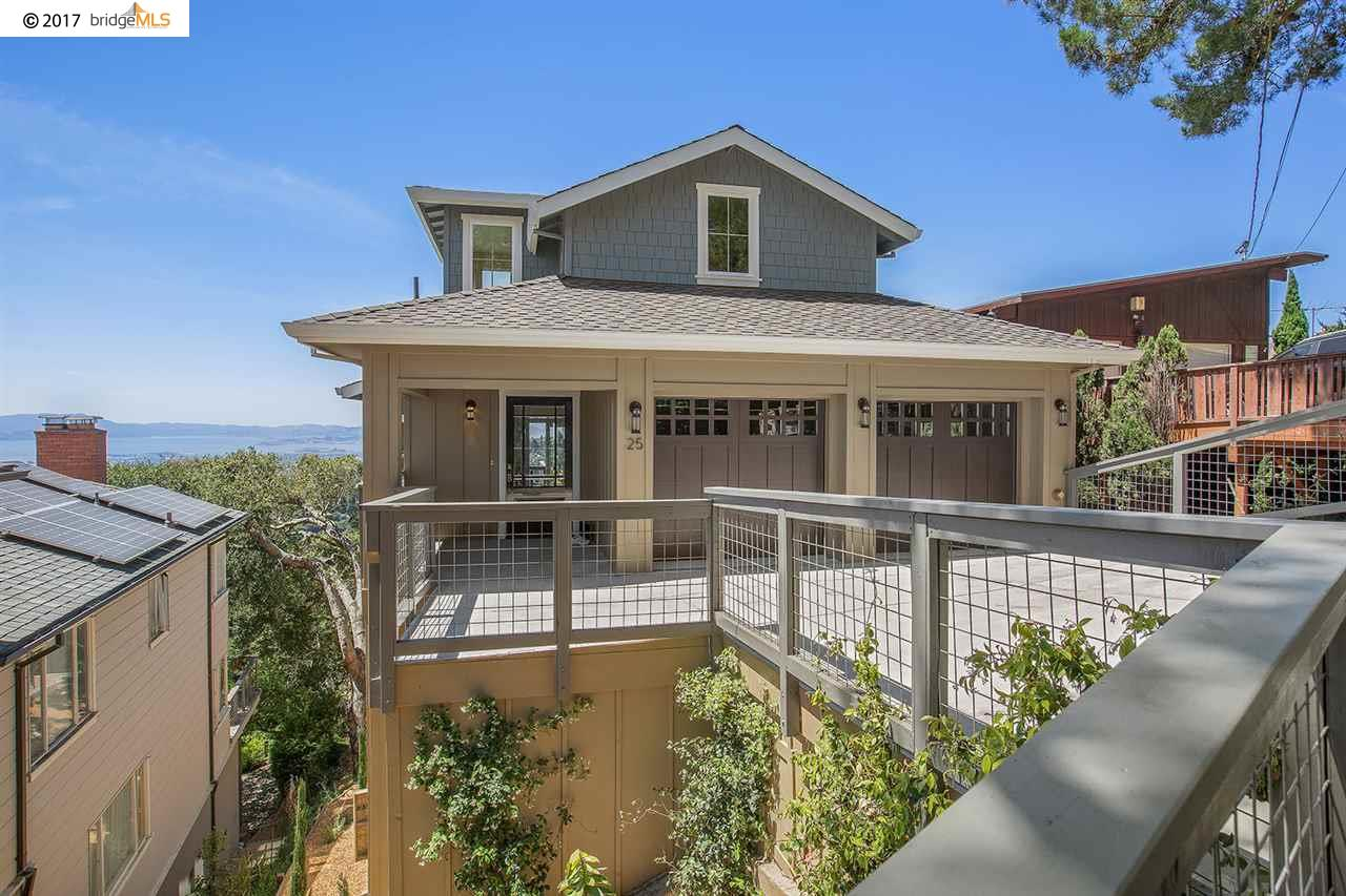 Single Family Home for Sale at 25 Asilomar Circle Oakland, California 94611 United States