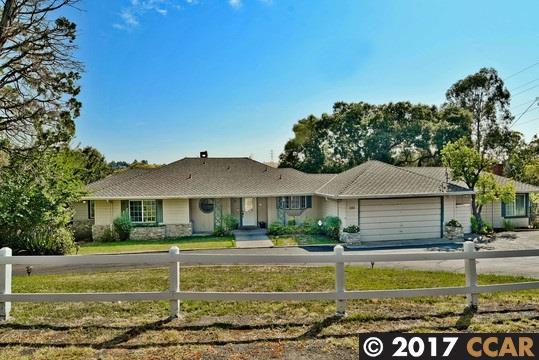 Single Family Home for Sale at 396 Crest Avenue Alamo, California 94507 United States